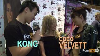 PornhubTV Aubrey Addams Interview at 2014 AVN Awards porno