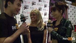 PornhubTV Aubrey Addams Interview at 2014 AVN Awards