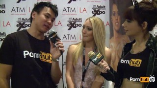 Awards at avn pornhubtv interview aj applegate pornhubtv blonde