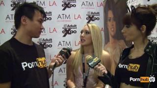 At pornhubtv aj interview awards avn applegate blonde pornhubtv