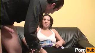 Fabien  volume scene la lafait dans rue recrute fuck squirting