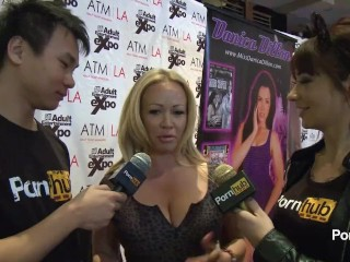 PornhubTV Austin Taylor Interview at 2014 AVN Awards