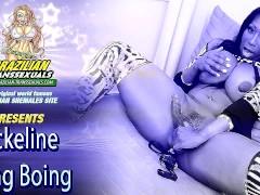 Big Brazilian Shemale Jackeline BoingBoing