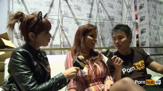 PornhubTV Syren De Mer Interview at 2014 AVN Awards porno