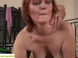 Older Redhead Helga Fucked Doggystyle