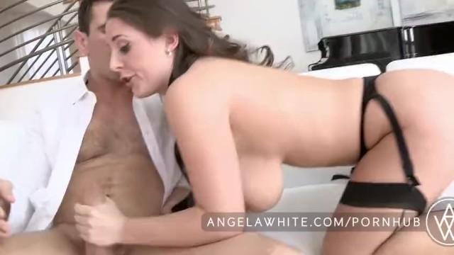 Ангела жестко ебут #4