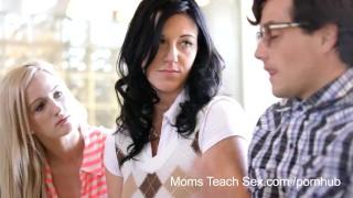 Moms Teach Sex He finally gets to fuck his stepmom!