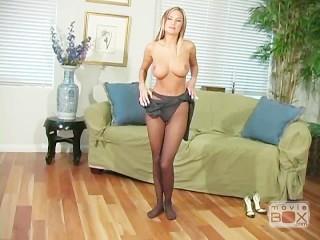 Amy Ried Pantyhose #4, Scene 1