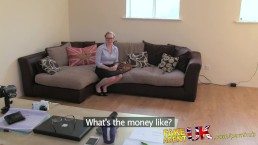 FakeAgentUK Deep throating and anal from seemingly shy amateur