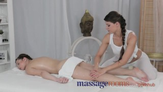 Teen of lesbian young massage rooms gives busty experienced her life orgasm babe couple