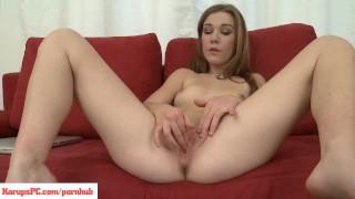 Alexis Crystal Fingering Her Twat