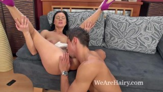 To hairy attention her receives special enza pussy pussy raven