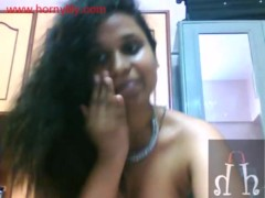 South Indian with big ass on webcam