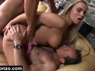 Jizz All Over Her Face Vivian's sexual assault ends with hot jizz all over her face HD porn