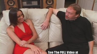 Hottie Gets Cunt and Throat Fucked