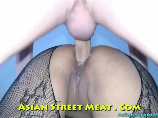 Vidios of anal bead insertion