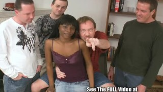 Cocoa Slut Takes On White Cock! Job hand