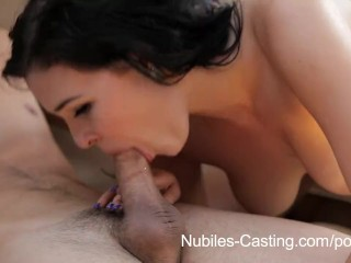Nubiles Casting – She wants this job bad!