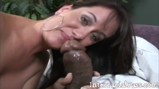 Blackzilla Slays a White Wife's Pussy and Mouth!