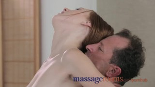Massage Rooms Tight young squirting girls scream as they orgasm