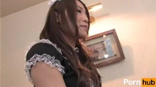 Scene waitress  hardcore cock maid
