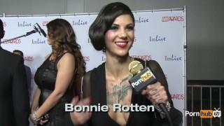 PornhubTV Do You Masturbate? Red Carpet AVN Awards 2014