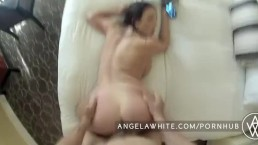 Vollbusige Angela White POV Fick