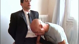 To sign your contract, i need to suck your huge cock of straight guy !