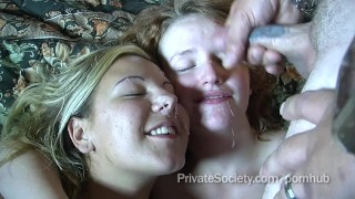 Motel swingers room a full of group facial