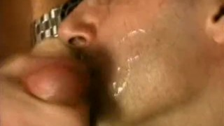 Cumshots and fucking bareback couch bears wanking face