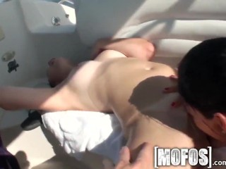 Preview 6 of Mofos - Party sex on a boat