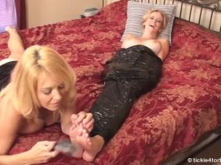 mummyfied Vanessa tickling