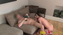 FakeAgentUK Face full of cum for naive british amateur