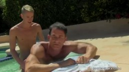 Daddy Poolside Prick Loving