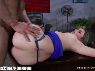Preview 4 of Hot office sex with Bunny - Brazzers
