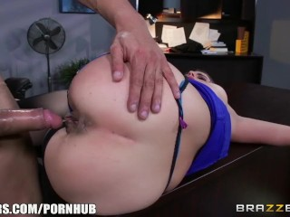 Preview 6 of Hot office sex with Bunny - Brazzers