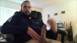 Huge Olive Cock Lasts and Cums like it's 18