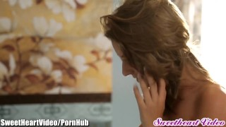 SweetHeart Presley Hart Face Sits On Bailey Blue