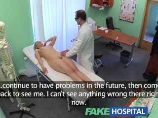 Preview 2 of FakeHospital New doctor gets horny MILF naked and wet with desire