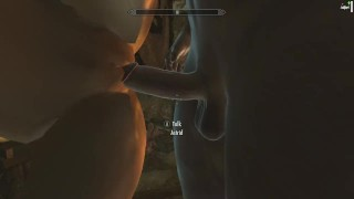 Skyrim: Sex With Astrid (Testing Her Loyalty To Her Husband) Mmf trimmed