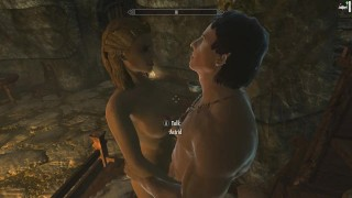 Skyrim: Sex With Astrid (Testing Her Loyalty To Her Husband) porno