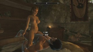 Skyrim: Sex With Astrid (Testing Her Loyalty To Her Husband) Dick hentai