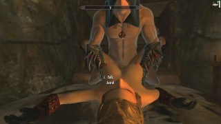 Skyrim: Sex With Astrid (Testing Her Loyalty To Her Husband) Cowgirl style