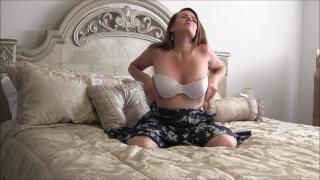 24 Week Pregnant MILF Nikki Solo Masturbation