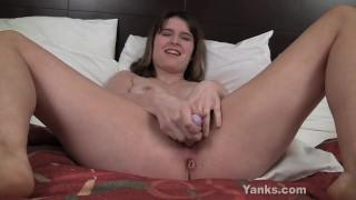 Sexy Sosha Rub Asshole And Toy Slit