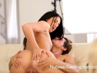 Nubiles Casting – Flexible fuck bunny really wants this job