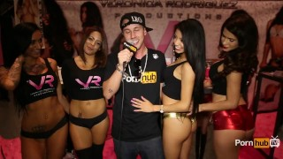 PornhubTV Jessy Jones & 4 Hot Girls at eXXXotica 2014 Atlantic City