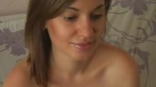 Horny Ladyboy Sucks Her Dildo