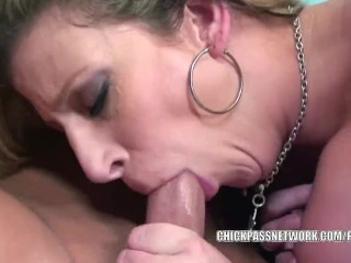 Busty MILF Sara Jay gets her twat filled with cock