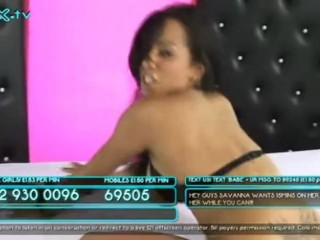 Savannah Mai Shows Pussy on Babestation Extreme